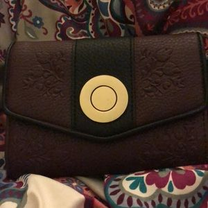 Purple charming charlie wallet